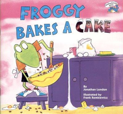 *小貝比的家*FROGGY BAKES A CAKE/平裝書/3~6歲