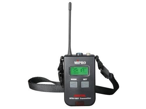 【昌明視聽】 MIPRO MTG-100Ta 發射器x1個含MIC+MTG-100Ra 接收機x2個含耳機 導覽會議系統