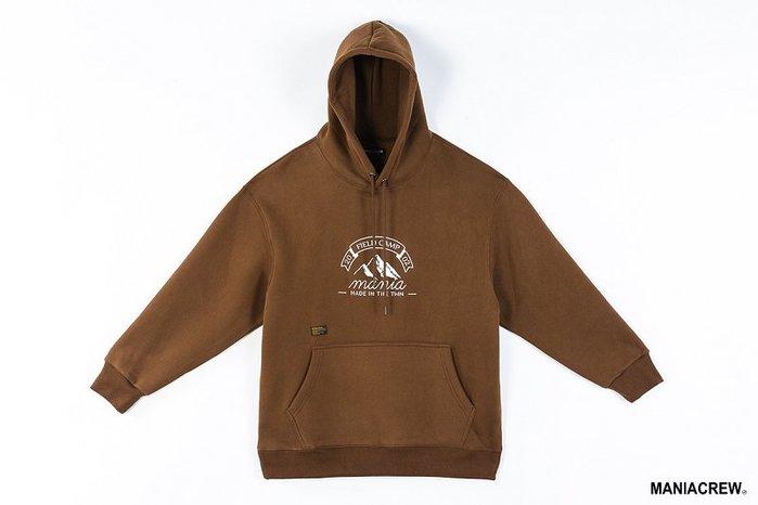[NMR] MANIA 連帽長袖 帽T 19 A/W Mountain Hoodie