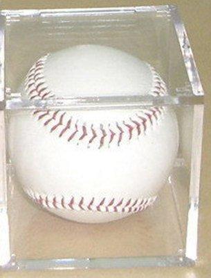 (空白球+球盒)組_躍動_台灣製造透明壓克力展示 球框 放置 贈含空白簽名球6組以上免運空白棒球非美國Ultra Pro