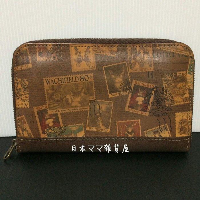 日本瓦奇菲爾德/達洋貓  牛革長皮夾~二手保存良好【日本帶回】