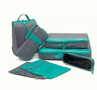 收納專家 旅行收納袋防水7件套拉桿箱整理收納包