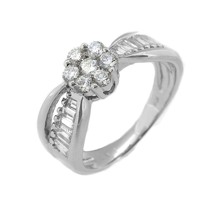 【JHT金宏總珠寶/GIA鑽石專賣】0.82ct天然鑽石戒指/材質:18K(JB43-A10)