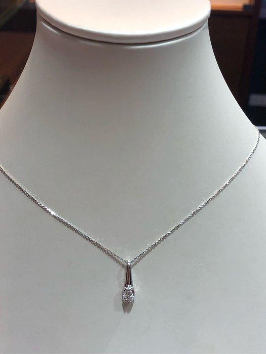 22分天然鑽石項鍊,精選特賣商品19800,款式簡單平時適合配戴,加送14K金鏈
