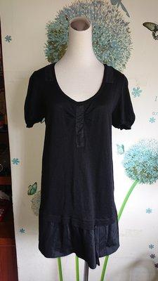 RIVAMONTI 黑色上衣/長版衣(144)