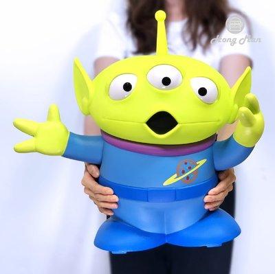 玩具總動員三眼怪立體公仔USB LED造型燈 Disney迪士尼 小綠人Squeeze Toy Aliens