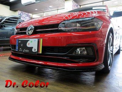 Dr. Color 玩色專業汽車包膜 Volkswagen Polo GTI 火龍紅/亮面carbon_氣壩線條/後視鏡