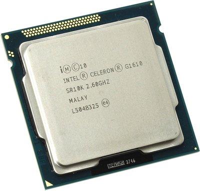 【偉鑫資訊】中古Intel Celeron G1610  2.60 GHz CPU處理器