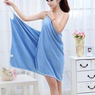 浴巾 吊帶裙(1入)-超細纖維背部鏤空浴裙5色73pp599[獨家進口][米蘭精品]