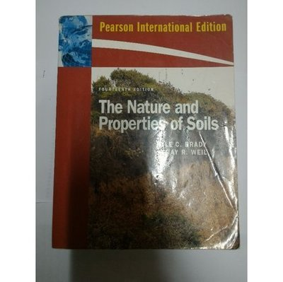 The Nature and Properties of Soils 二手書 ISBN:9780135133873