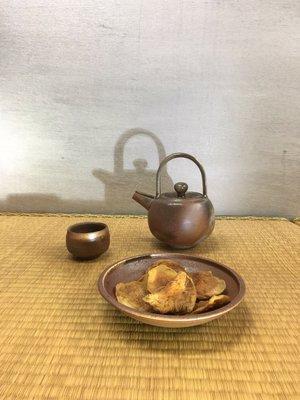 (店鋪不續租清倉大拍賣)簡銘炤先生,柴燒小茶盤#385-2#原價4300元特價2150元