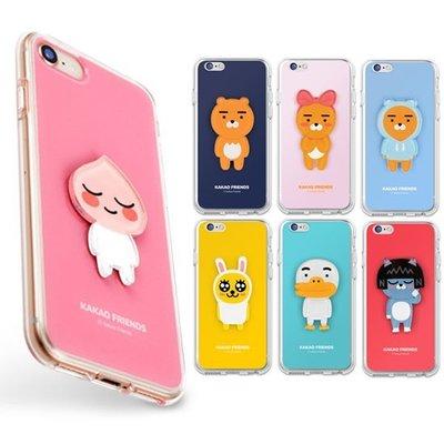 KAKAO FRIENDS 壓克力立體人物 軟/硬 手機殼│iPhone 6 6S 7 8 Plus│z9168