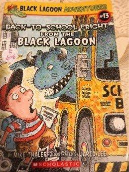 二手英文小說back-to-school fright from the black lagoon 64頁 76