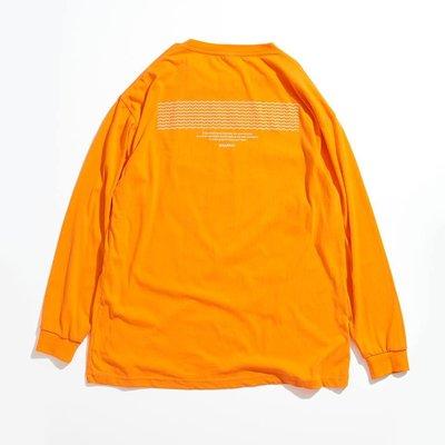 ☆LimeLight☆ DISARRAY LONG SLEEVE TEE TRAILBLAZER 薄長袖 黑色 & 橘色