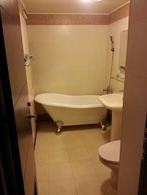 優質精品衛浴 (固定式浴缸特殊乾式工法,施打防霉膠) A1系列纯手工古典浴缸 施工完成圖一份
