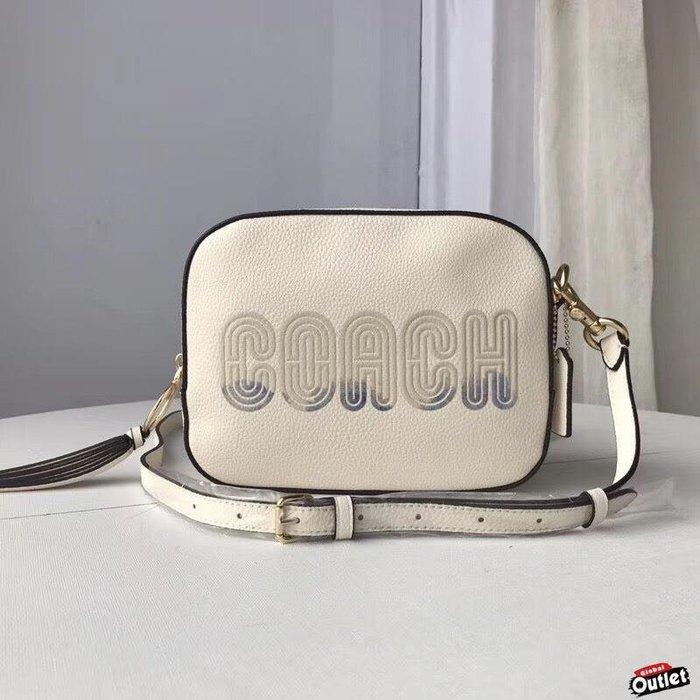 【全球購.COM】COACH 68945 最新款女士 漸變色大LOGO全皮相機包 美國代購