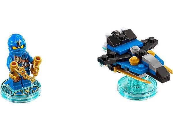 【LEGO 樂高 】100% 全新正品 益智玩具 積木/ Dimensions 忍者三合一次元系列 Jay 71215