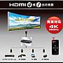 【電子超商】PX大通 HD2-410 HDMI 4進1出切換器 4K紅外線遙控
