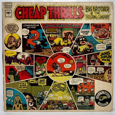 西洋搖滾 Big Brother & The Holding Company【Cheap Thrills 】美國首版