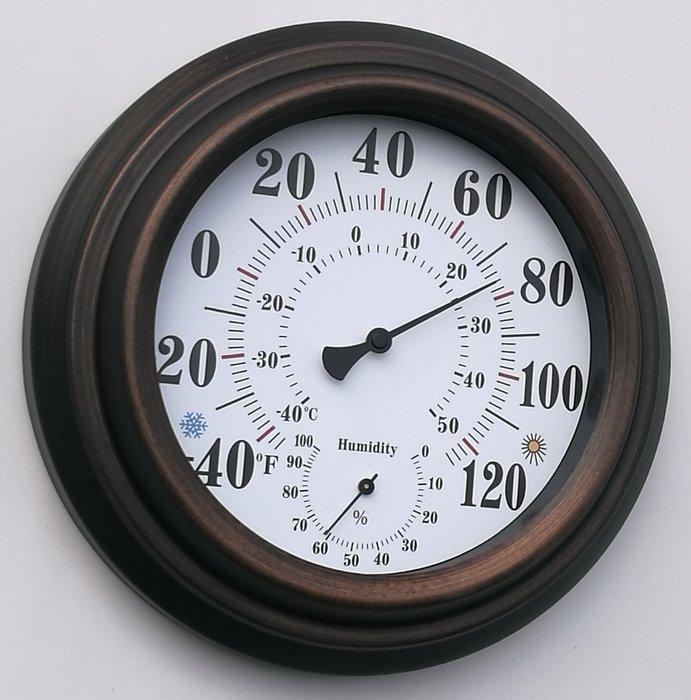 復古 壁掛 溫度計 裝飾 古典 懷舊 美式 美國風