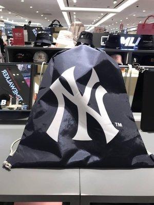 ☆Joan☆韓國帶回♥韓國限定 NY 洋基 MLB 大聯盟 棒球 束口袋 運動 後背包 (現 貨)
