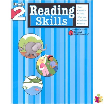[文閲原版]Flash Kids 閱讀技巧2年級 英文版 Reading Skills Grade 2 英語學習輔助 小