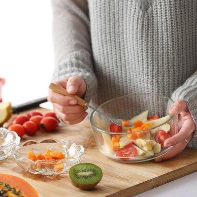 環保餐具日式熱銷大號密封泡麵碗耐熱玻璃...