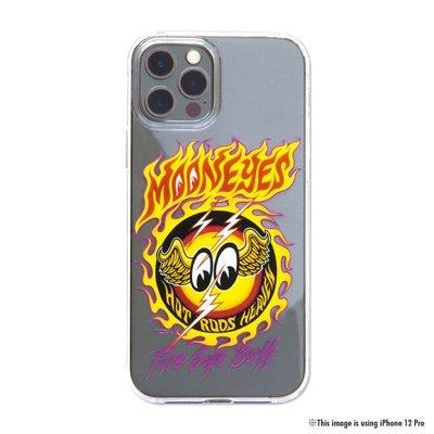 (I LOVE樂多)MOON Fire Eyeball iPhone12 mini 硬殼