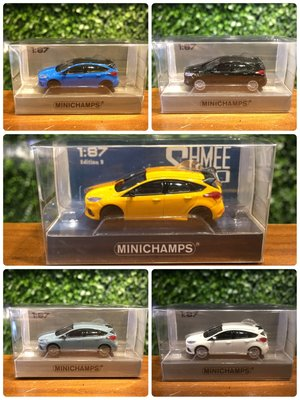 1/87 Minichamps Ford Focus RS 2018 870087200【MGM】