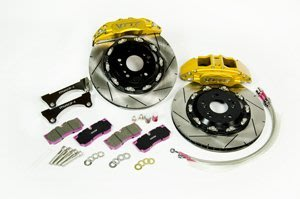 【優質輪胎】VTTR鍛造大六活塞卡鉗 330MM浮動碟盤+來令片(WISH ALTIS CAMRY PREVIA)三重區
