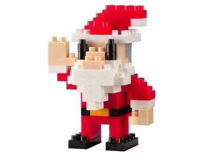 交換禮物 百元內 積木 世界迷你 微型4mm 迷你積木 ( TICO微型積木-聖誕老人) 聖誕禮物 恐龍先生賣好貨