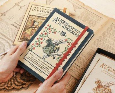 【現貨當天出】韓國帶回(韓國製!!) 360度折 愛麗絲系列 萬用年曆 萬用手冊 手帳本