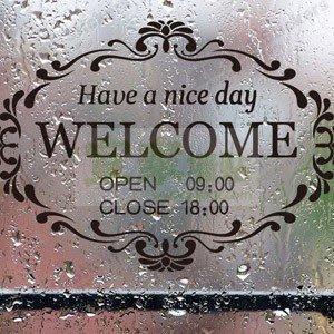 小妮子的家@歡迎光臨壁貼/welcome牆貼/玻璃貼/磁磚貼/汽車貼/家具貼/營業時間