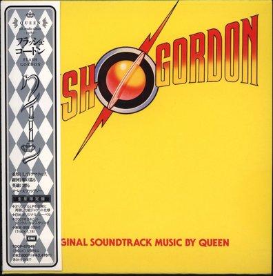 【弦外之音∮】Queen–Flash Gordon / 華麗搖滾 / 日版Mini-lp / 1CD