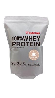 CP Creative power濃縮分離乳清蛋白無添加色素 台紐 ON 1KG(英式奶茶/巧克力)