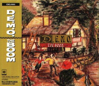 K - THE BOOM - D.E.M.O - 日版 DEMO 1991