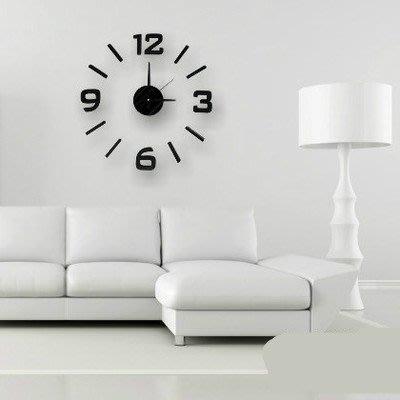 無聲壁鐘客廳簡易歐式簡歐鐘表寢室指針白色墻壁室內裝飾貼簡單igo 西城集市