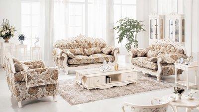 【大熊傢俱】A28D 玫瑰系列歐式  皮沙發 布沙發 多件沙發組  美式皮沙發   絨布沙發歐式沙發 休閒沙發
