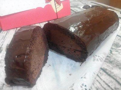 無糖/低醣/無麵粉/低碳/生酮 黑森林巧克力生乳捲