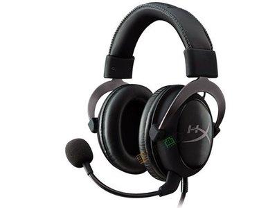 *硬派精璽* HyperX CLOUD II耳機麥克風|灰 000305000006