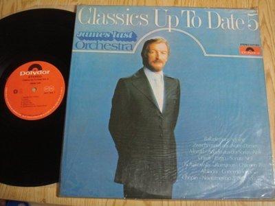 [鄉土情紀實館] 黑膠唱片~James Last~Classics Up To Date 5~1978年~寶麗多/歌林