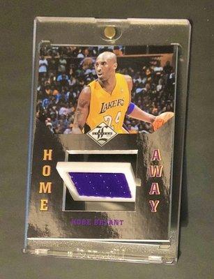2012-13 Limited Kobe Bryant雙面雙球衣卡Home Away