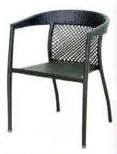 【南洋風休閒傢俱】戶外休閒椅系列 –S16A16   格林編藤椅 戶外椅(646-22)