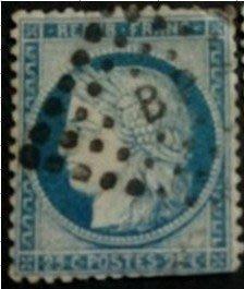 1871年法蘭西第三共和國Ceres郵票25cents