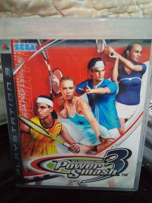景 ps3 遊戲片 威力網球3 日文版 納達爾 費德勒 莎拉波娃(商品售價皆含運費,限台灣本島)