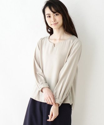 【WildLady】 特 日本金屬裝飾領百搭襯衫 上衣OPAQUE.CLIP