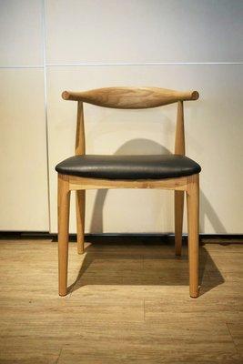 HODERN Hans.J Wegner Elbow Chair 牛角椅,原廠ASH精製而成,絕非一般仿製廠能比擬