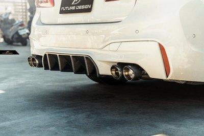 【台中政銓】BMW F90 M5 FD 抽真空 高品質 乾碳 卡夢 後下巴 現貨 免費安裝 G30 M包適用