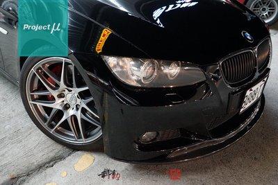 alcon car97 六活塞 PMU project-mu R800/HC+ 競技版來令片 BMW E92 / 制動改
