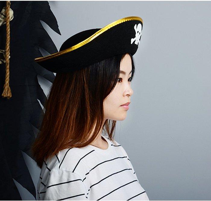 【洋洋小品海盜帽】兒童成人萬聖節服裝聖誕節服裝舞會表演造型衣服面具頭飾假髮帽翅膀道具玩具海盜服海盜刀海盜旗眼罩